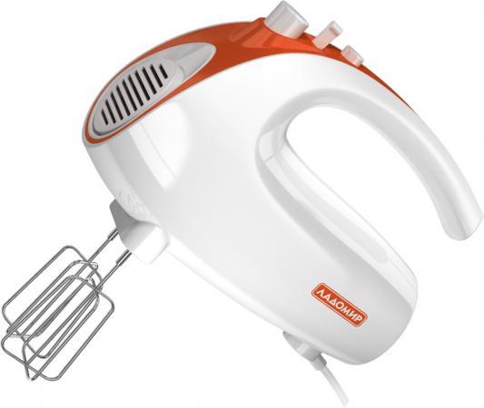 Миксер ручной Ладомир 606-2 150 Вт белый оранжевый