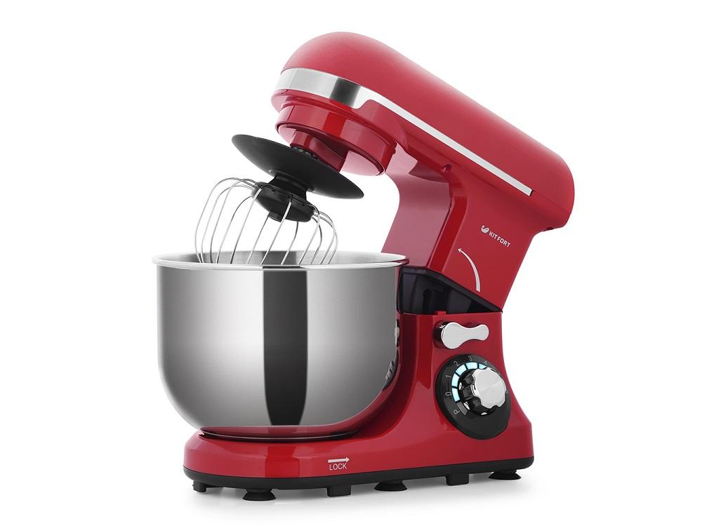Миксер стационарный Kitfort КТ-1337-1 600Вт красный миксер стационарный kitfort кт 1337 1 600вт красный