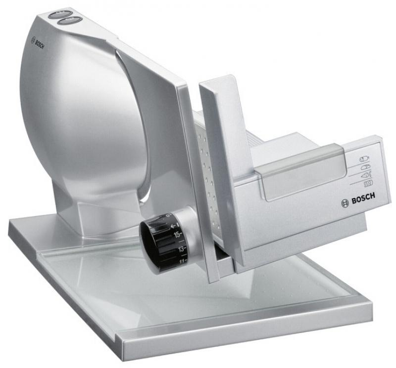 Ломтерезка Bosch MAS9454M 150Вт серебристый