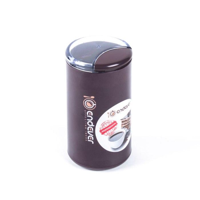 Кофемолка Endever Costa-1055, 250 Вт, 15000 об/мин, вес продукта для помола 100 гр, ABS-пластик, защита от перегрева двигателя