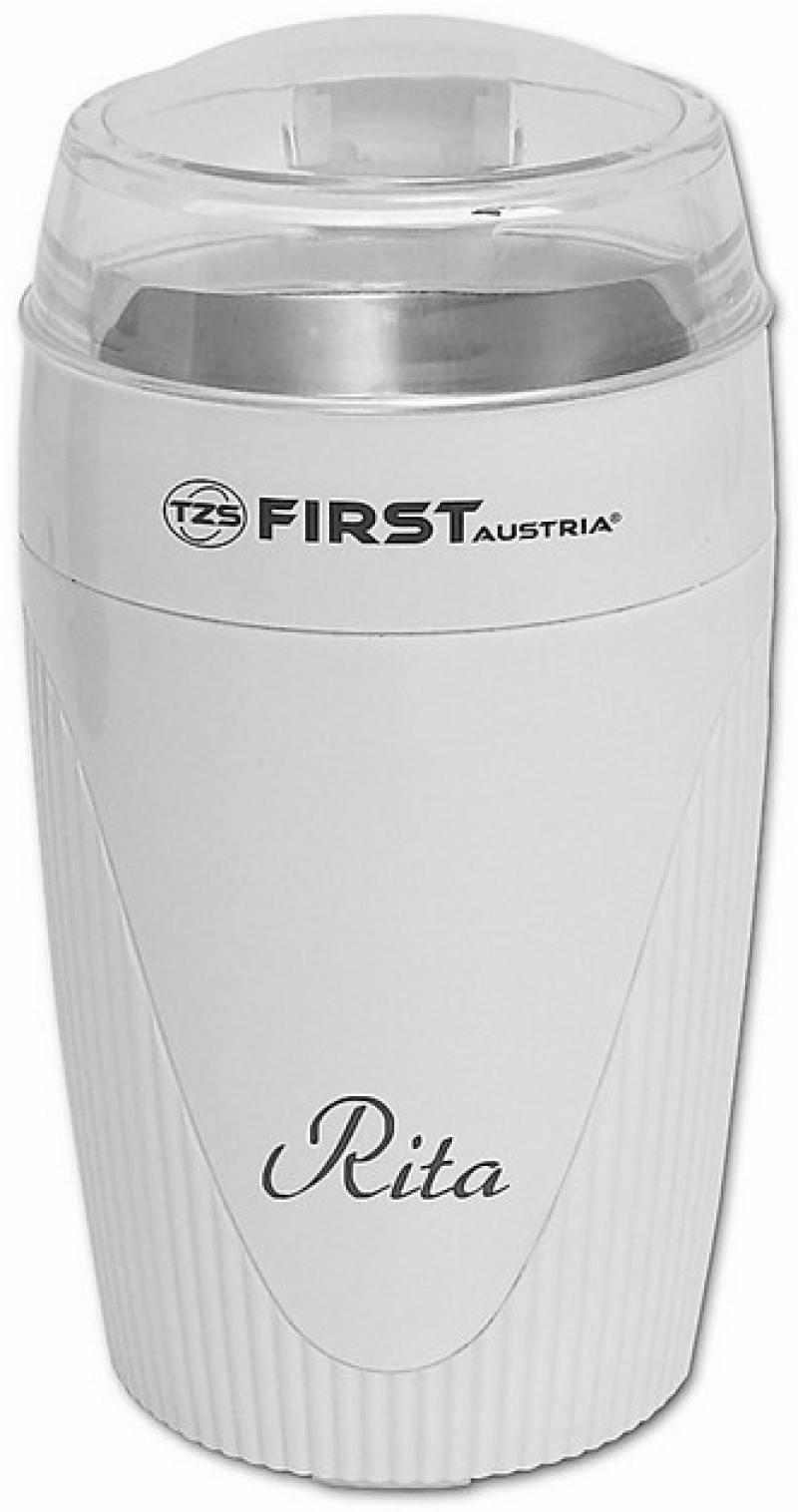 Кофемолка First 5481-1 90Вт белый кофемолка first 5482 2