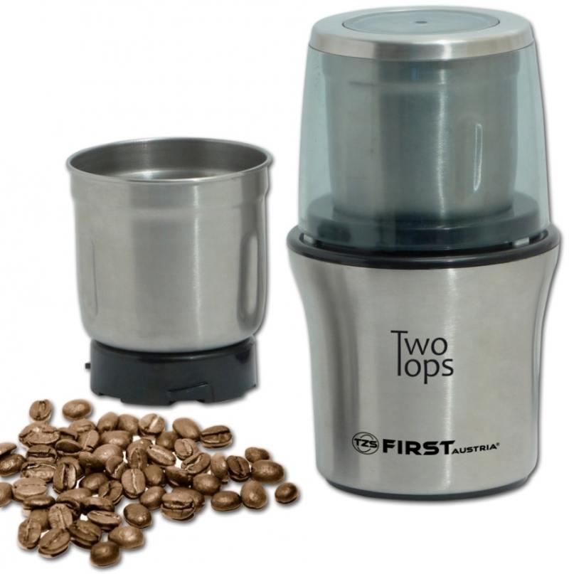 Кофемолка First FA-5486 200 Вт стальной