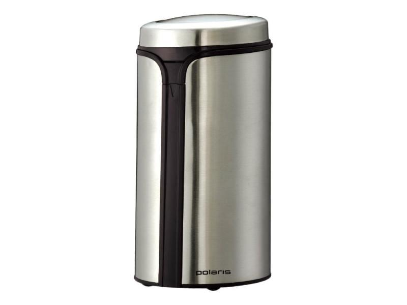Кофемолка Polaris PCG 0815A 150Вт серебристый кофемолка polaris pcg1317 черный