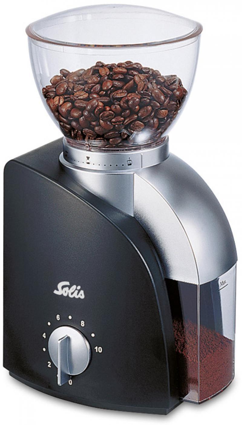 Картинка для Кофемолка Solis Scala Coffee grinder 100 Вт черный
