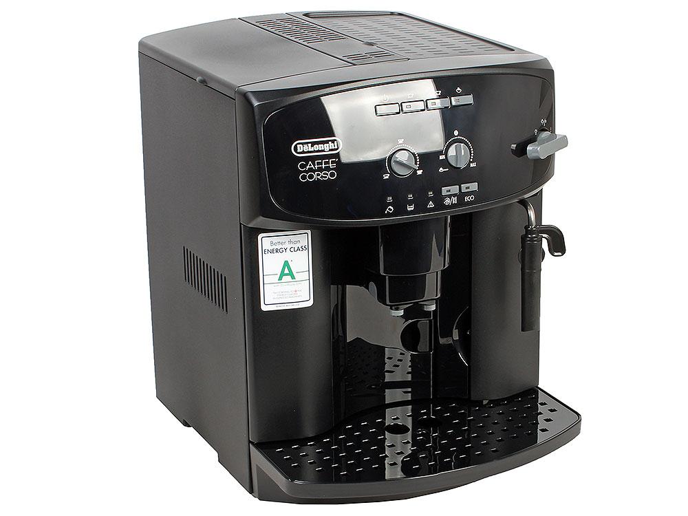Кофемашина DeLonghi ESAM 2600 EX 1, эспрессо, автомат, д/зернового и молотового, капучино, черный