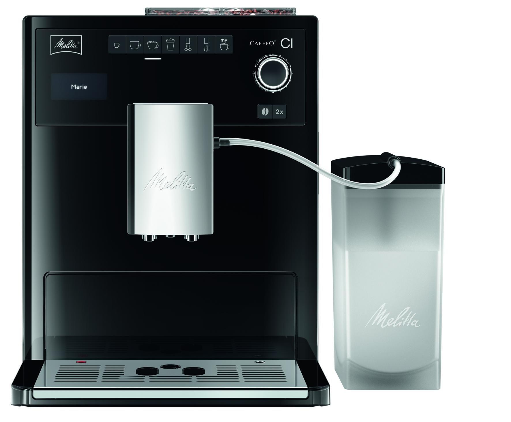 Эспрессо-кофемашина MELITTA CAFFEO CI черная кофемашина melitta 20288
