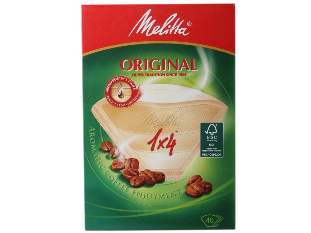 Фильтры бумаж. д/заварив.кофе 1х4/40,корич. от OLDI