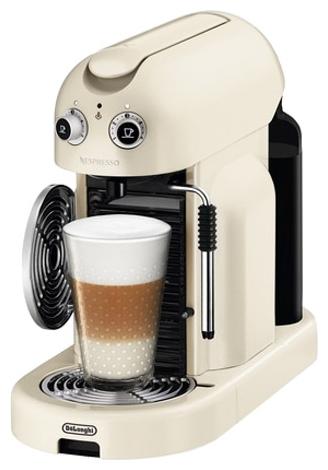Капсульная кофемашина DeLonghi EN 450 CW Nespresso кофемашина капсульная delonghi en 125 s nespresso