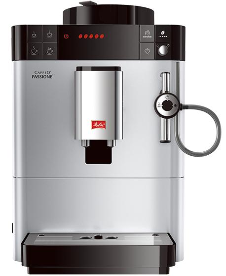 Кофемашина Melitta Caffeo Passione F 530-101 серебристая/черная кофемашина melitta caffeo passione [f 531 102]