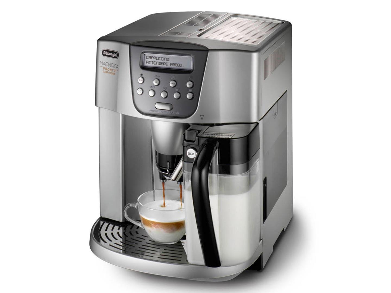 Кофемашина DeLonghi ESAM 4500 мощность 1350Вт, давление помпы 15Бар, регулировка степени помола, тип кофе- молотый/зерновой, таймер, самоочистка, капп кофемашина delonghi ecam350 15 b 1450вт 15бар механ