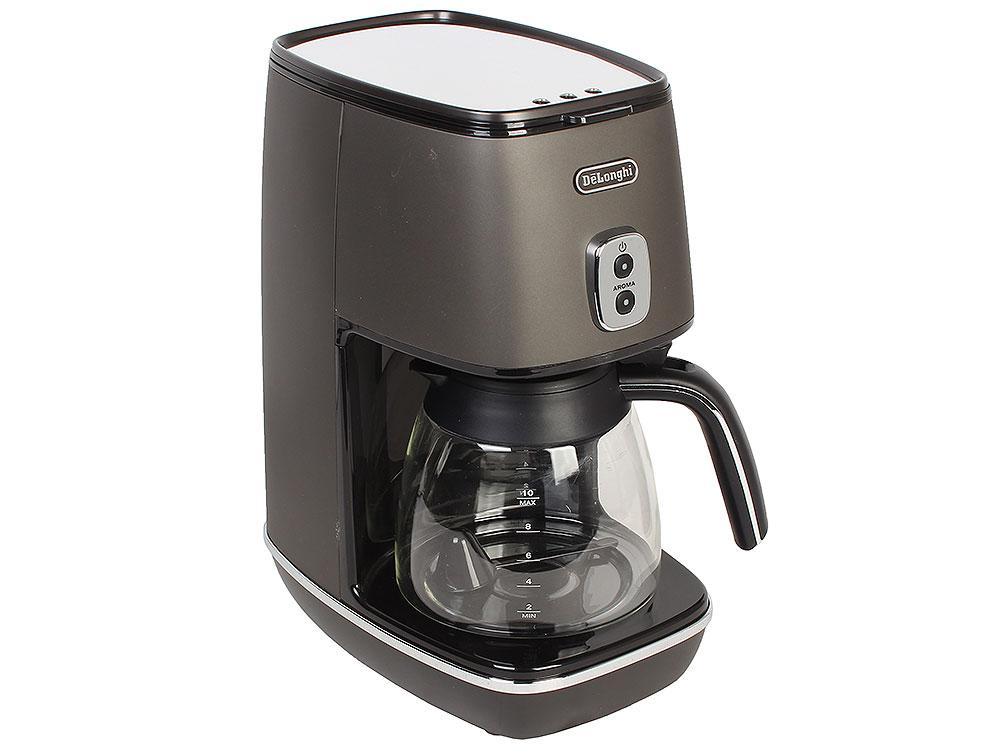Кофеварка DeLonghi ICMI 211.BK, капельная стоимость