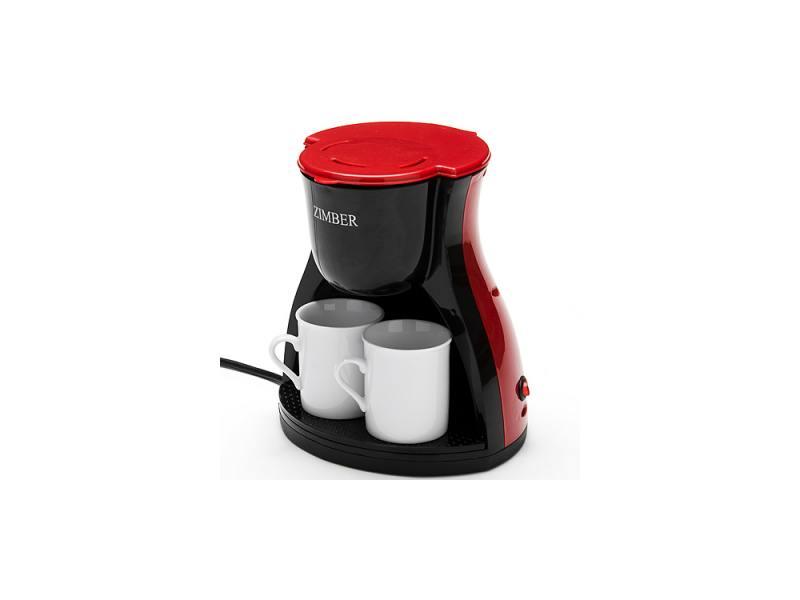 Кофеварка Zimber ZM-10980 450 Вт красный