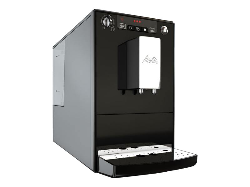 Кофемашина Melitta Caffeo Solo E 950-101 1400 Вт черный кофемашина melitta caffeo solo pure silver e 950 103