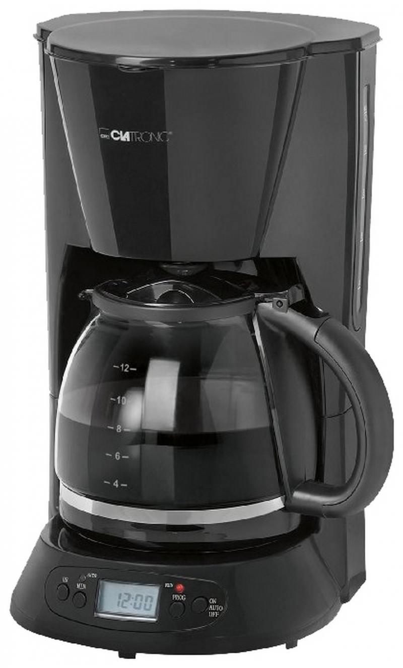 Кофеварка Clatronic KA 3509 900 Вт черный