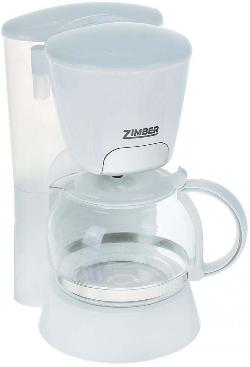 Кофеварка Zimber ZM-10686 700 Вт белый