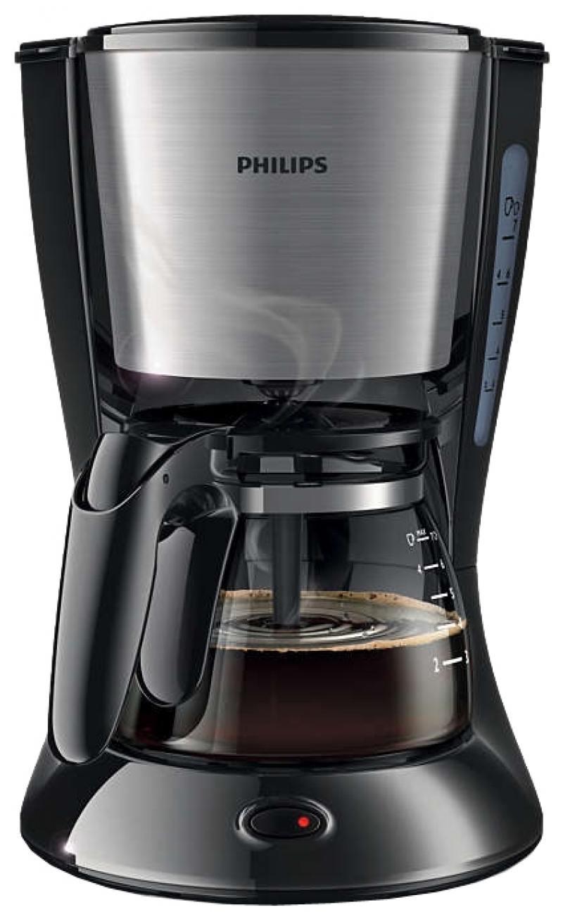 Кофеварка Philips HD7434/20 700 Вт черный кофеварка капельная philips hd7434 20