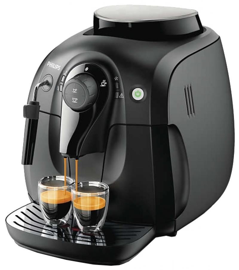 Кофемашина Philips HD8649/01 черный 1400 Вт