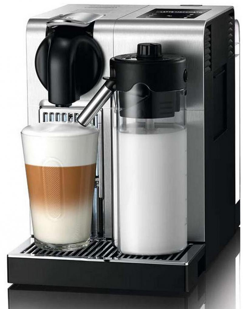 Кофемашина DeLonghi Nespresso EN 750.MB 1400 Вт серебристый кофемашина nespresso delonghi en 560 b nespresso lattissima touch animation