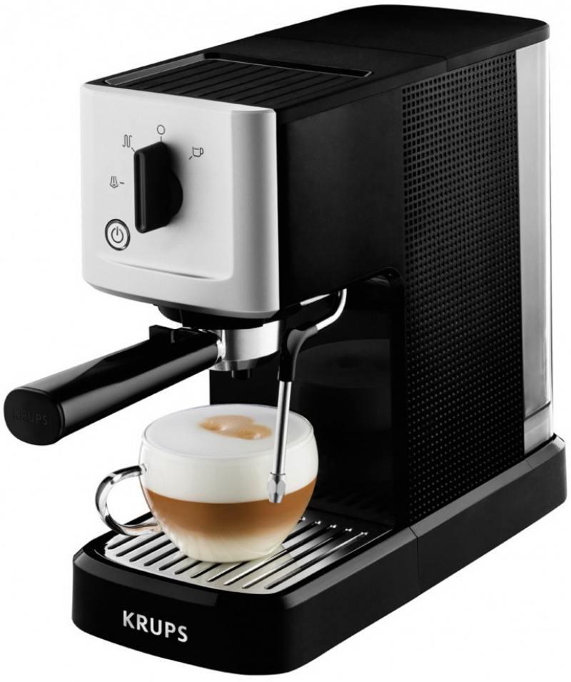 Кофемашина Krups XP344010 1460 Вт черно-серебристый krups xp 5280