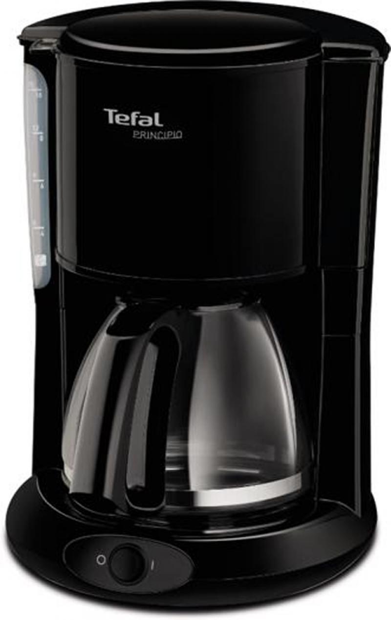 Кофеварка Tefal CM261838 1000 Вт черный кофеварка tefal cm261838 1000вт черный