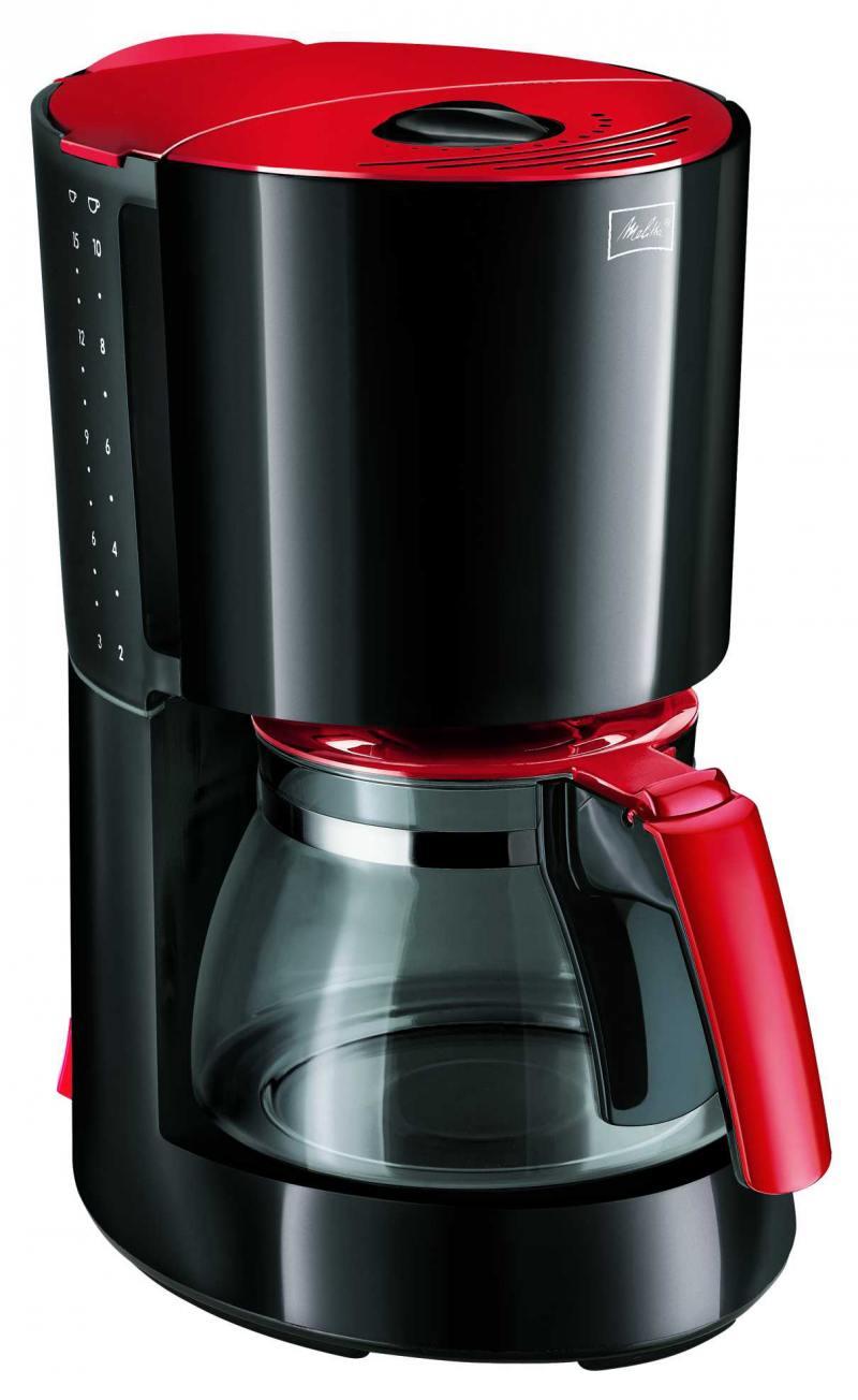 Кофеварка Melitta Enjoy II 1000 Вт красный черный