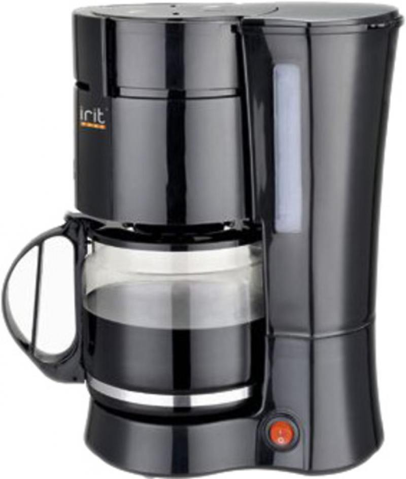Кофеварка Irit IR-5052 1000 Вт черный