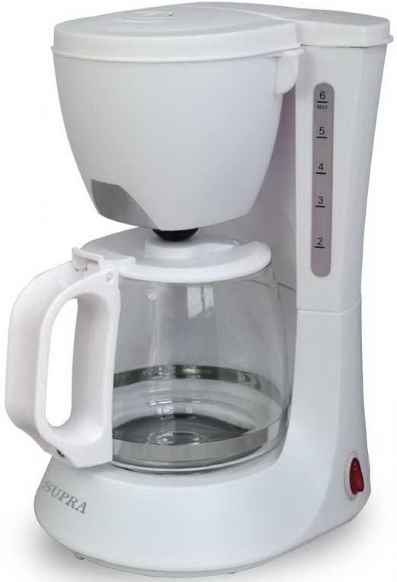 Кофеварка Supra CMS-0602 600 Вт белый