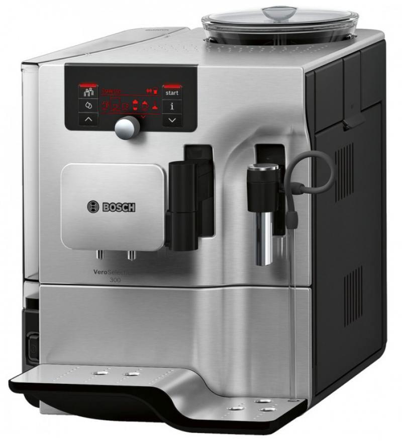 Кофемашина Bosch VeroSelection 300 1600 Вт серебристый TES80329RW bosch 1600 a 00159