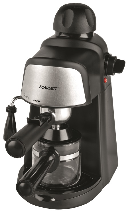 Кофеварка Scarlett SC-037 черный 4 бар 0.2л 800Вт кофеварка scarlett sc cm33006