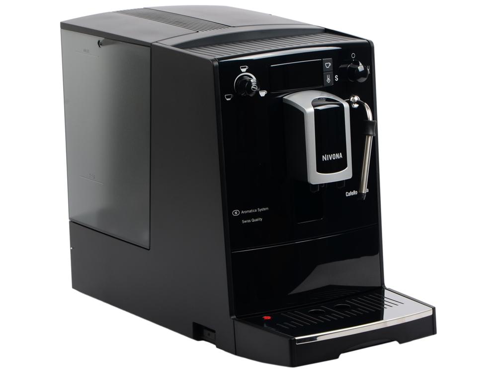 Кофемашина Nivona CafeRomatica 626 1400Вт, 1,8л, 15 бар, контроль креп.кофе, регулир.температуры кофе, черная