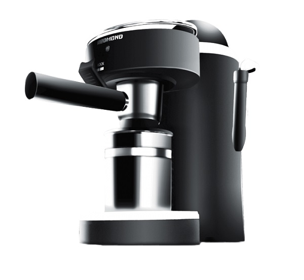 Кофеварка эспрессо Redmond RCM-1502 790Вт, 0,24л, 4 бар, пластик цена и фото