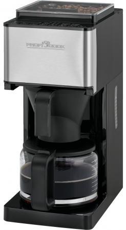 Кофемашина Profi Cook PC-KA 1138 черный серебристый
