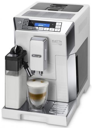 Кофемашина DeLonghi ECAM 45.760.W 1450 Вт белый кофемашина delonghi ecam 28 464 m 1450 вт серебристый