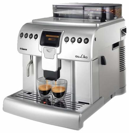 Кофемашина Saeco Aulika Focus 1400 Вт серебристый saeco hd8887 19