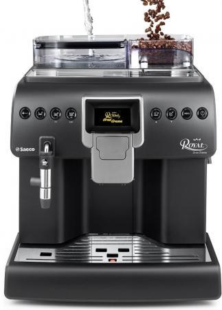 Кофемашина Saeco Royal Gran Crema 1400 Вт черный saeco hd8887 19