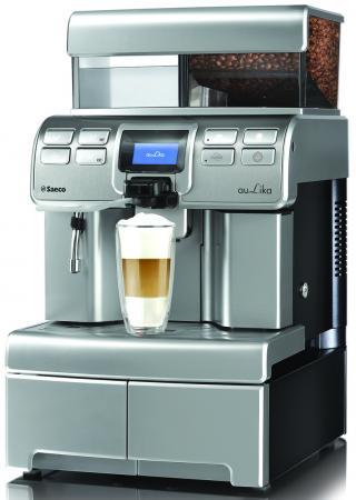 Кофемашина Saeco Aulika Top High Speed Cappuccino 1400 Вт серебристый saeco hd8887 19