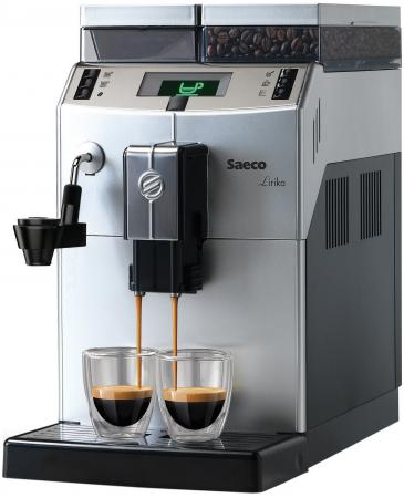 Кофемашина Saeco Lirika Plus 1850Вт 15бар 2.5л серый черный кофемашина saeco lirika one touch cappuccino