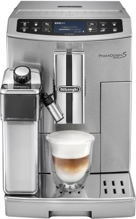 Кофемашина DeLonghi ECAM510.55.M 1450 Вт серебристый кофемашина delonghi ecam 28 464 m 1450 вт серебристый