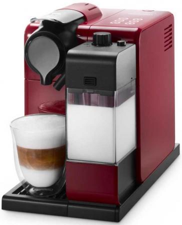 Кофеварка DeLonghi Lattissima Touch EN550.R 1400 Вт красный кофемашина delonghi ecam 45 760 w белый