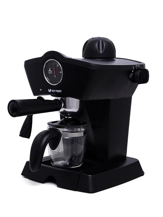 Кофеварка Kitfort КТ-706 800Вт черный