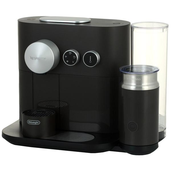 Кофемашина DeLonghi EN 355 GAE, капсульная, эспрессо, серый/черный