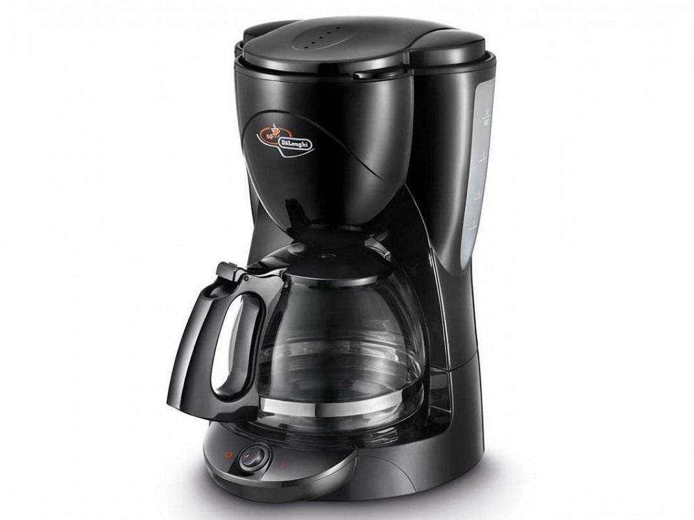 Кофеварка DeLonghi ICM 2.1B, капельная кофеварка delonghi alicia emk 9