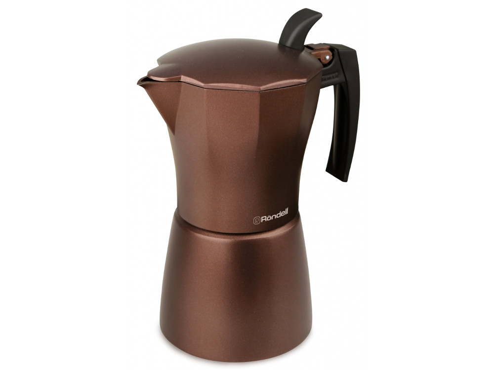 Гейзерная кофеварка Rondell RDA-995 6 чашек Kortado цена