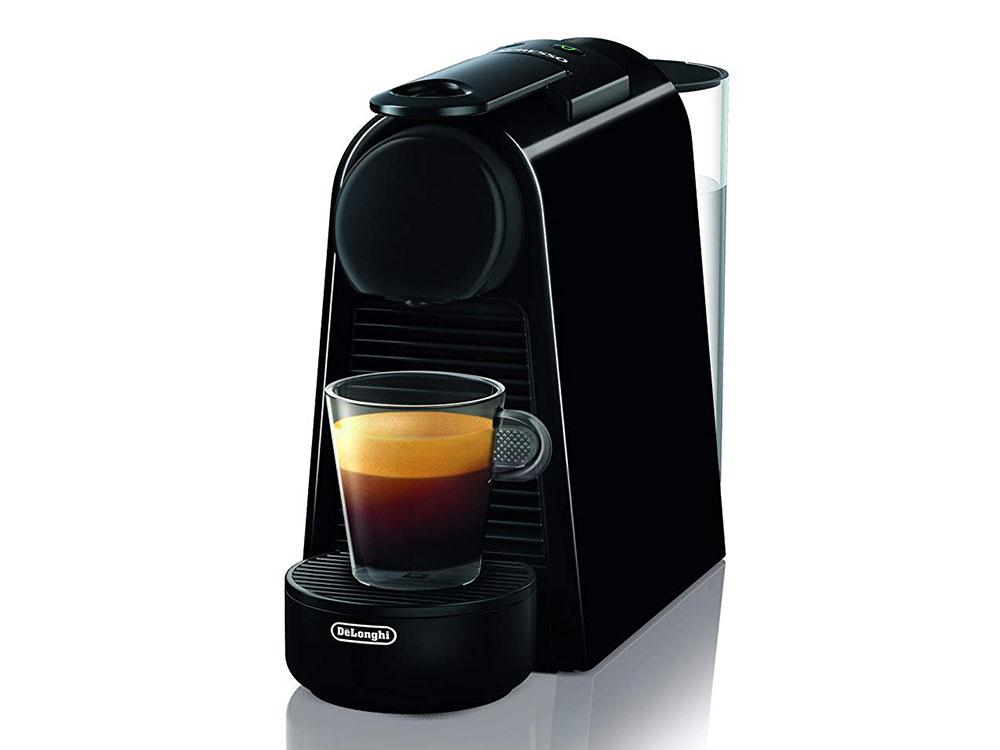 Кофемашина DeLonghi EN 85.B Essenza Mini, капсульная, черный кофемашина капсульная delonghi nespresso en 560 w