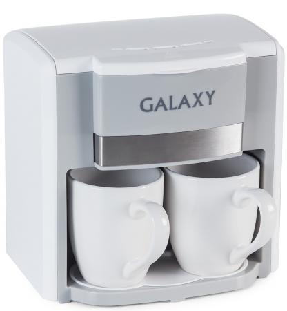 Кофеварка Galaxy GL 0708 белая кофеварка galaxy gl0708