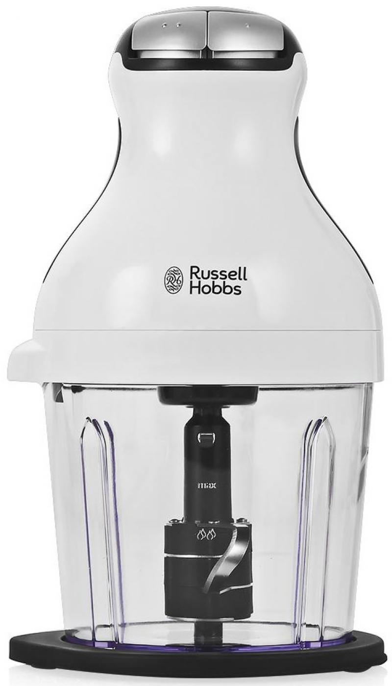 Измельчитель Russell Hobbs 21510-56 Aura 350Вт белый измельчитель russell hobbs 21510 56 aura 350вт бело черный