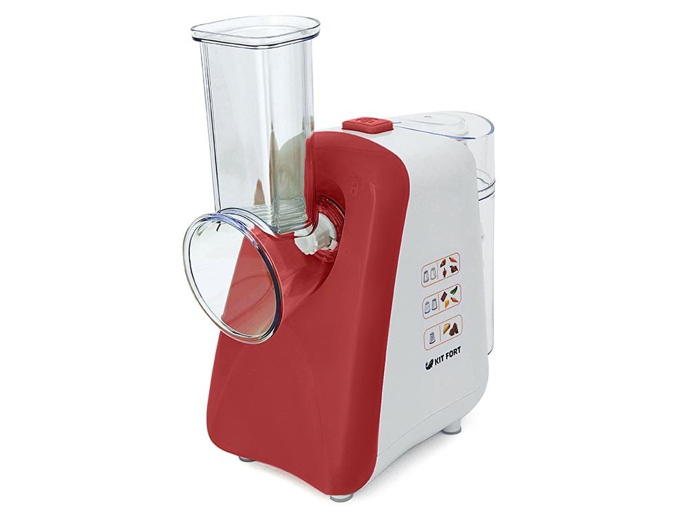 Терка электрическая Kitfort КТ-1318-1, 150Вт, красный