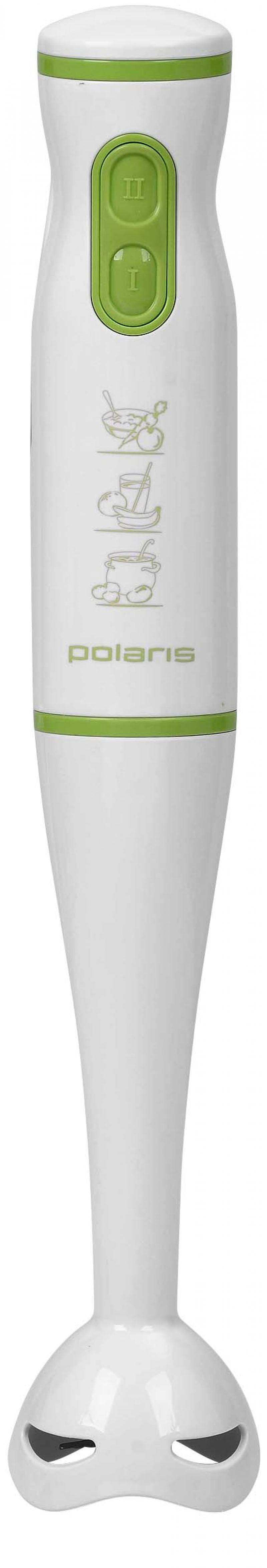 Блендер погружной Polaris PHB 0508 500Вт белый зелёный блендер polaris phb 0508 phb 0508 белый оранжевый