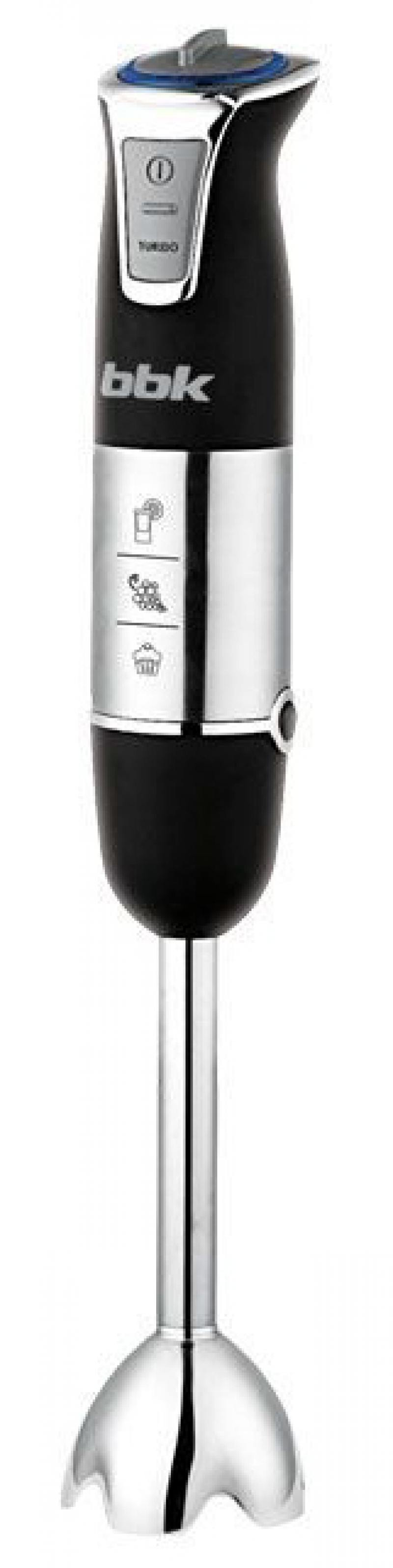 Блендер погружной BBK KBH0807 750Вт чёрный