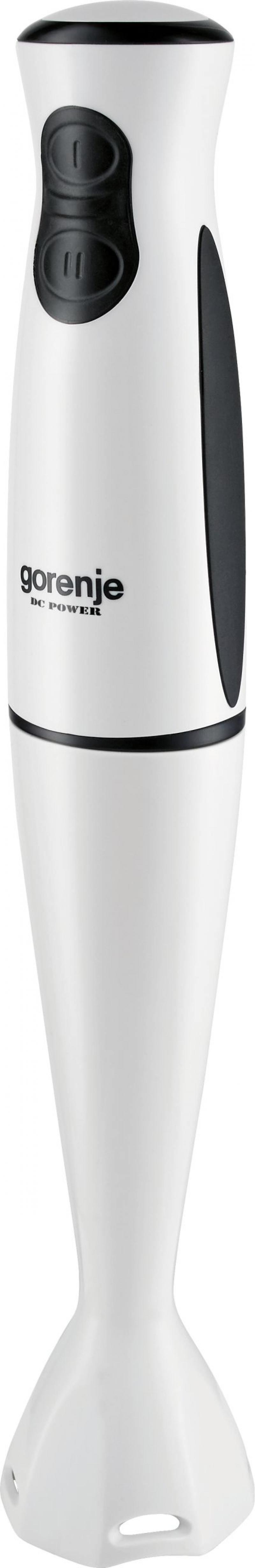 Блендер погружной Gorenje HBX480QW 400Вт белый чёрный gorenje hbx485qw черно белый